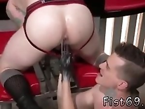 Prostate male fisting gay xxx Tatted cutie Bruce Bang and fetish guy Axel