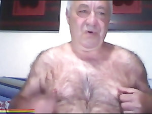 Super Furry Grandad Showing on Webcam
