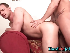 Cameron and Penix in hardocre gay cock
