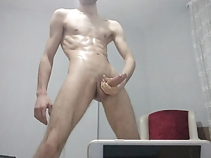 Turkish Long edge and CUM!