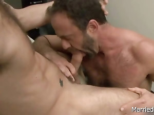 Tattooed hunk gets deep anal fuck 6 part5