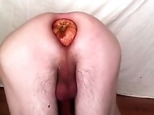 Apple in anal
