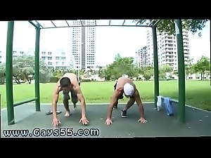 Men bondage outdoor free videos gay first time Hot public gay sex