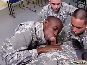 Hairy military sucking dick at gloryhole gay Yes Drill Sergeant