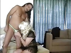 Jamie Fucks Philly's Transvestite Cock Slut's Mouth #2
