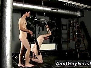 Latino bondage male gay porn Aiden has a blast in his ball sack and a lad