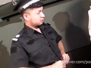 Top Cops 3: New Asian Cop Gets A Prostate Exam