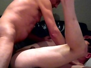 Daddy fucks his boy, brutal in thight ass, bareback 2.0