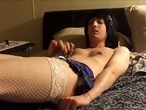 Sissy Femboy Fucked by Her Man