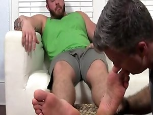 Gay sexy twinks foot fetish movie This isn't Aaron's first tim