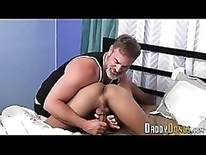 Stepsons ass oozing jizz