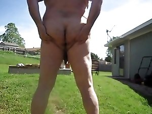 Backyard Piss in the Sun